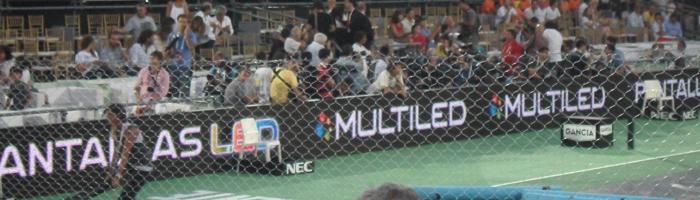 pantalla a led Federer