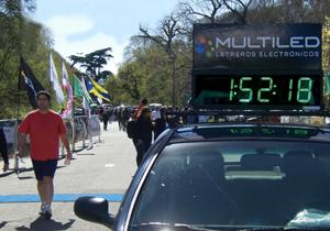 Reloj electrónico cronómetro maratón