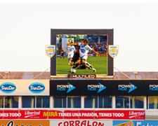 LED pantalla estadio Rafaela