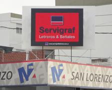 Pantalla de leds San Lorenzo Santa Fe