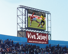 Pantalla led Argentina Estadio Jujuy