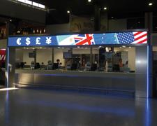 Pantalla proyector Aeropuerto Ezeiza