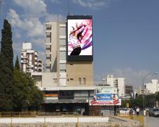 Publicidad anuncios las pantallas LED