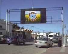 Pantalla leds Municipalidad Las Parejas