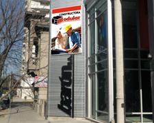 Pantallas de led publicidad Constructora Lomas de Zamora