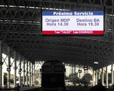 Pantalla leds Terminal Mar del Plata