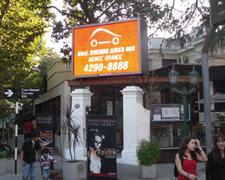 Pantalla de led publicitaria Monte Grande