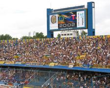 Pantallas led publicidad Club Rosario Central