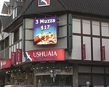 Pantalla led Shopping Ushuaia