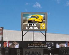 Pantallas led publicidad Avenida Siria Tucumán