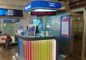 Display Personal Aeropuerto