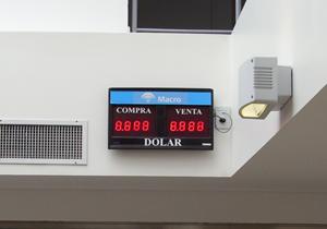 Pizarras Banco Macro Rosario