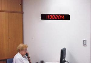 Carteles de leds argentina reloj