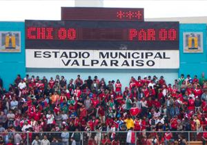 Tanteador estadios Valparaíso Chile