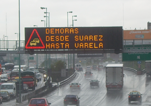 Carteles led señalización vial 9 de Julio Avellaneda