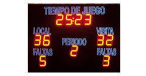 Paneles digitales publicitarios deportivos