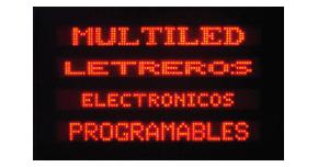 Letreros LED exterior