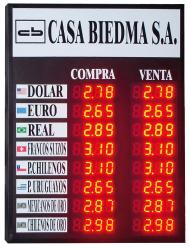 QUADROS DE CAMBIO - INTERIOR / VIDRAÇA - MO8